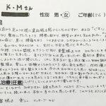 武蔵野市境 足腰の痛み 50代女性 K.Mさん