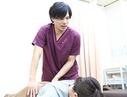 ウィル鍼灸整骨院 施術の様子写真