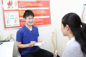 ウィル鍼灸整骨院 カウンセリング写真