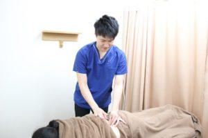 ウィル鍼灸整骨院 鍼灸施術写真
