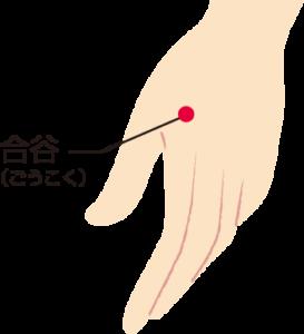 武蔵境ウィル鍼灸整骨院 頭痛 ツボ 合谷